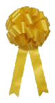 12 Inch Yellow bow